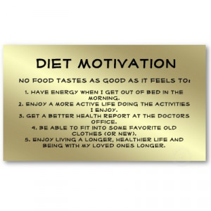 Description: Motivational Diet Quotes...