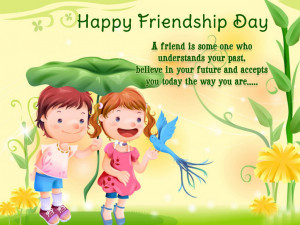 Friendship Day Quotes Anime Child HD Wallpapers