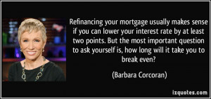 Funny Mortgage Quotes