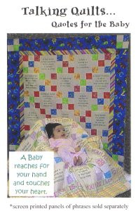 Talking Quilts Quotes Pattern Scrappy single chain -- 42 ½