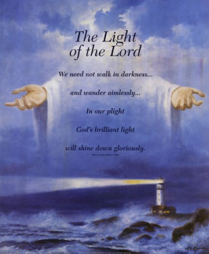 Homepage › Inspirational › Lighthouse and Jesus »