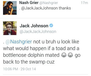 Tagged with jack johnson tweets