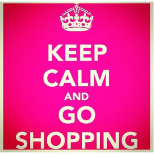 Retail therapy!