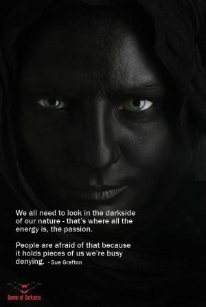 gothic quote darkside
