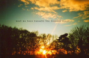 dec 22nd 2010 32 notes tags # sunset # photography # sayings # nature ...