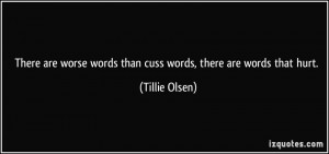 More Tillie Olsen Quotes
