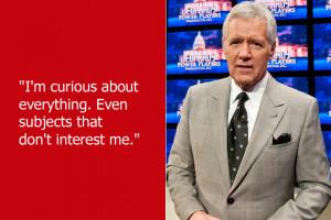 ... who spoke like he was maybe on a spoof of 'Celebrity Jeopardy
