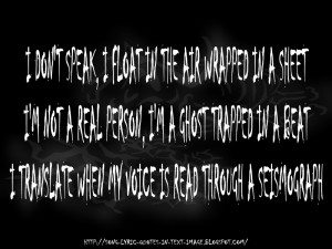 Bad Meets Evil - Eminem Song Lyric Quote in Text Image