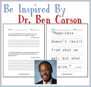 The life of Dr. Ben Carson is nothing but inspiring! Hop over to ...