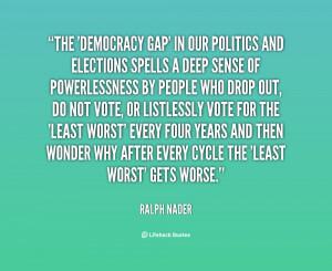 Ralph Nader Quotes