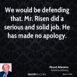 Floyd Abrams Quotes