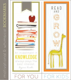 Quoteable Monday - Bookmarks