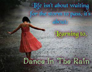 love the rain, thank you God