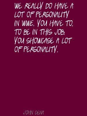 Great John Cena quote