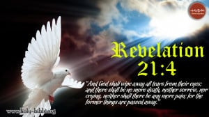 Bible Verse of the day – Revelation 21:4