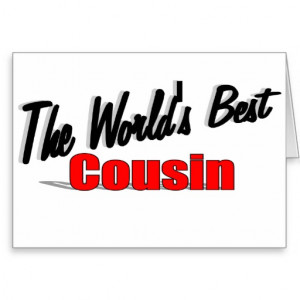 The World's Best Cousin Cards