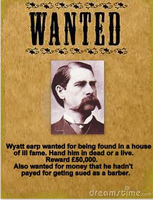 Wyatt Earp Quotes