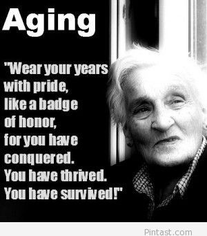 Aging gracefully is a widespread self esteem challenge