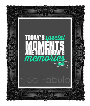 Special Moments // The Genie Quote // Disney Printable Artwork ...