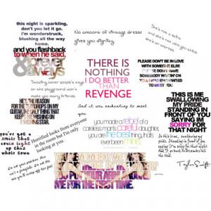 Taylor Swift song lyrics - Polyvore