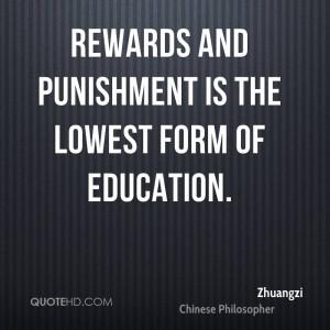 Zhuangzi Education Quotes