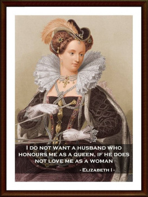 Queen+Elizabeth+I+Famous+Portrait++Quote+Poster+Print++by+POTAPOTA,+£ ...