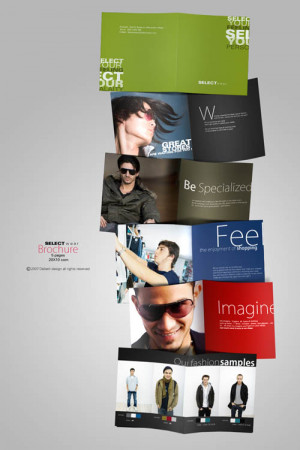 45+ Amazing Fashion Brochure Design Examples
