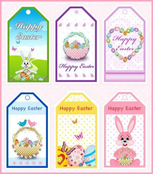 Easter Gift Tags, My Free Printable'S Cards Com, Easter Tags ...