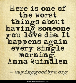 Grief Quotes and Sayings