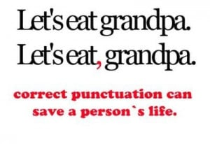 funny, grandpa, haha, lol, punctuation, quotes, words