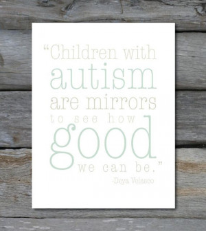 Autism Quote 8 x10 DIGITAL FILE print by PaperTherapyShop on Etsy, $10 ...