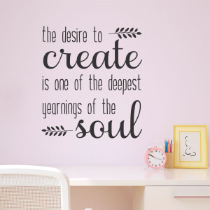 Desire to Create Vine Wall Quotes™ Decal