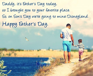Happy Fathers Day Quotes From Son Cute wishes on father's day