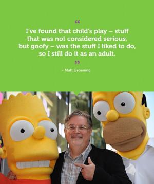 Matt Groening quote