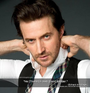 Richard- from Richard Armitage Quotes on Facebook Source- https://m ...