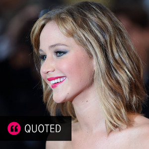 Jennifer Lawrence Candid Quotes