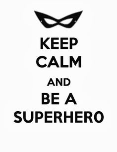 Superhero free printable via Free Time Frolics #freeprintable use for ...