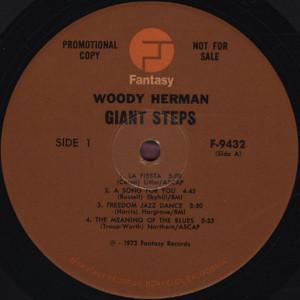 WOODY HERMAN GIANT STEPS