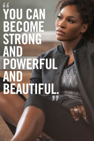 Motivation from Serena Williams for @Nike Women and the Nike Training ...