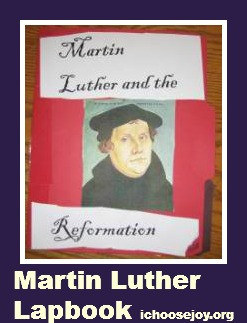 Martin Luther Lapbook