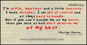 sad Love Quotes That make