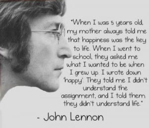 Words of Wisdom: John Lennon