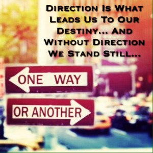 Chose Which Way To Go..