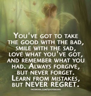 quotes and sayings always forgive but never forget learn from mistakes ...