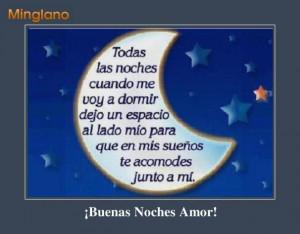 Frases de Amor para mi Novio de Buenas Noches