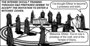 Jack Chick Dungeons and Dragons