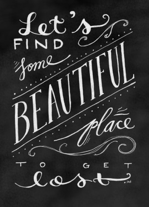 Adventure Quote, Travel Quote, Vacation Quote, Love Quote, Chalkboard ...