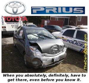 The All New Toyota Prius - Quicker than a heavy foot on the gas pedal.