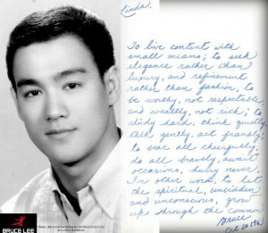 Bruce Lee postcard to his future wife, October 1963
