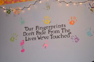 colorful, fingerprints, life, quotes, text